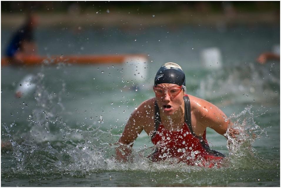 triathlete swimmer