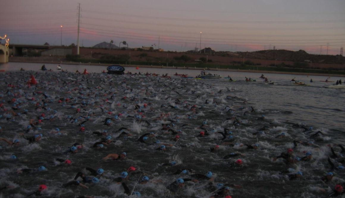 Mass Swim Start